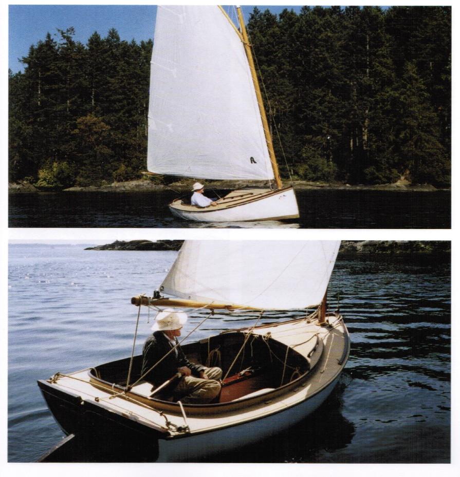 Catboat for William garden sailboat designs